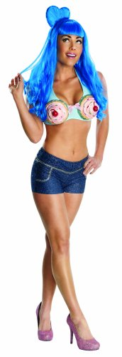 Katy Perry Secret Wishes California Gurl Cupcake Costume, Multicolor, Medium -