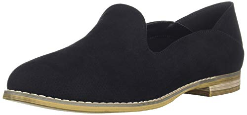 Indigo Rd. Women's Heather Loafer Flat, Black, 7 M - Loafers Indigo