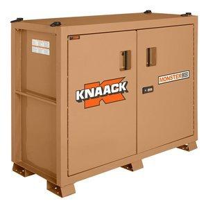 """Jobsite Storage Cabinet, 66"""" W x 30"""" D x 54-1/2"""" H, Tan"""