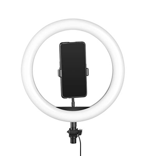 Digitek ® (DRL-14) Professional 14″ inch LED Ring Light | Dimmable Lighting | for YouTube | Photo-Shoot | Video Shoot | Live Stream | Makeup & Vlogging | Compatible with iPhone/Android