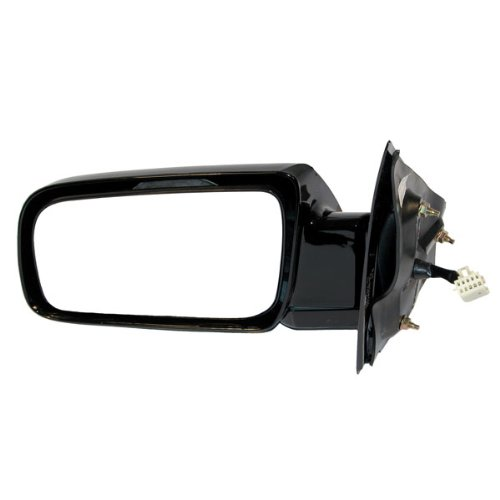 1999 Chevrolet/Chevy Astro Van, GMC Safari Van Power Gloss Black Below Eyeline Type Rear View Mirror Left Driver Side (1999 99) (Black Mirror Van Safari Power)