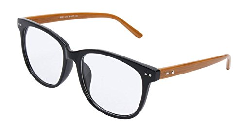 Color:Yellow # Fashion Spectacles Eyeglass Full Rim Frames Men Women Optical Eyewear Glasses by - Rim Oakley Half Frames