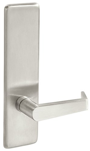 Yale AU 428F X 630 X RHR Exit Device, Lever Handle Outside Trim, Passage, Lever Always Active, RHR, 630 Satin Stainless Finish