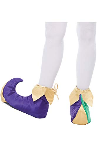 California Costumes Unisex Mardi Gras Shoes-Adult, Multi, Large ()