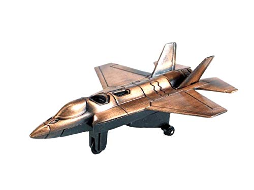 F-35 Joint Strike Fighter Jet Die Cast Metal Collectible Pencil Sharpener