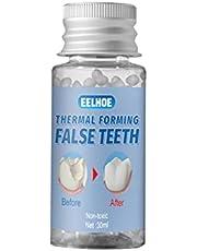 Povanjer Tijdelijke tandreparatieset voor ontbrekende tanden tandheelkundige tand vulmateriaal Televisie make-up gereedschap zelfgemaakte gebit gereedschap vullingen ontbrekende tandgebit productie