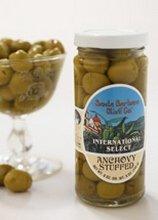 (Santa Barbara Olive Anchovy Stuffed Olives, 5 oz)