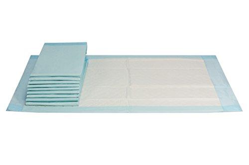200 Stück | Inkontinenzunterlagen, Krankenunterlagen 40x60cm, handlich unterverpackte Einwegunterlagen, 6 lagig aus Zellstoff, VIDIMA