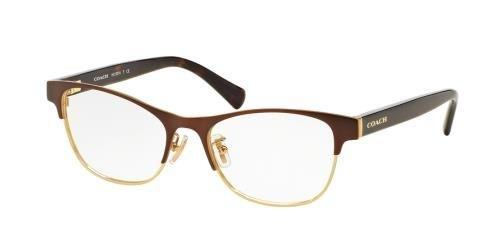 d08d2294e14e3 COACH Eyeglasses HC 5074 9240 Satin Brown Gold Dark Tortoise 52MM  Amazon.ca   Jewelry
