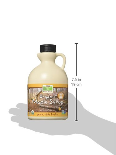 NOW Foods Organic Maple Syrup,Grade A Amber Color, 32-Ounce by NOW Foods (Image #6)