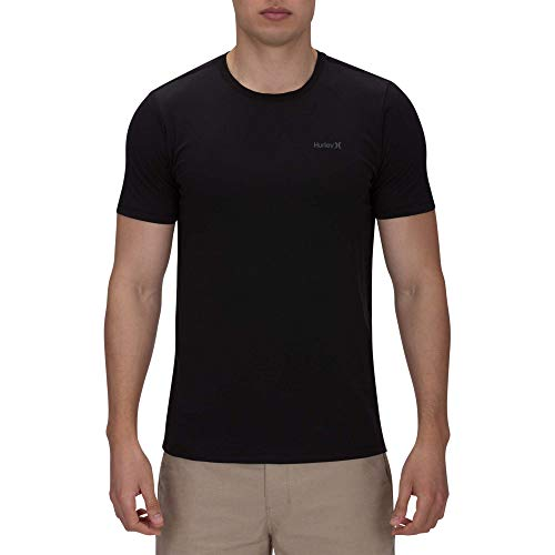 Hurley Men's Dri-Fit One & Only 2.0 Tee Black Medium