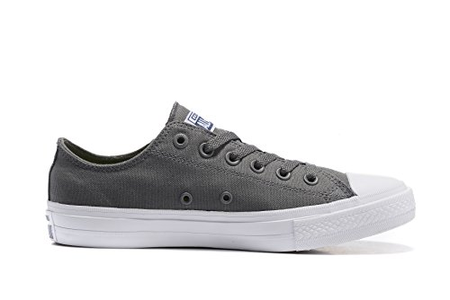 Converse Unisex Low Top Chuck Taylor All Star II Canvas Shoes Thunder under 70 dollars gqTX5ZW