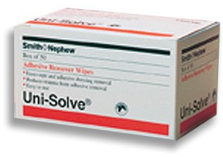 Medplus Services Usa Uni-Solve Adhesive Remover Wipes Bx/50, 1 Pound