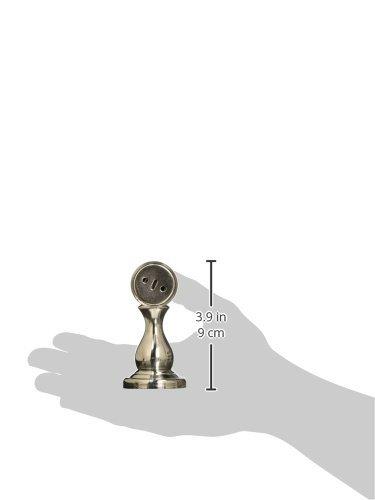 Amazon.com : eDealMax Redondo del Metal cerradura de la puerta Base soporte magnético tapón, DE 35 mm x 25 mm : Office Products