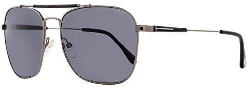 Tom Ford 09D Gunmetal-black polarised Edward - Gunmetal - Pads Tom Nose Glasses Ford