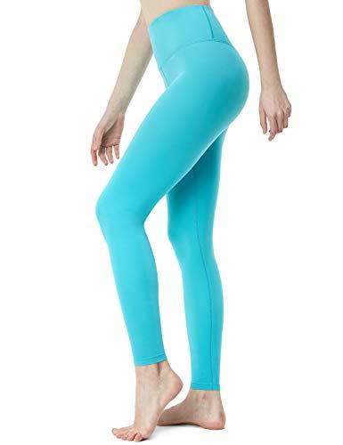 TSLA Yoga Pants High-Waist Tummy Control w Side/Hidden Pocket Series