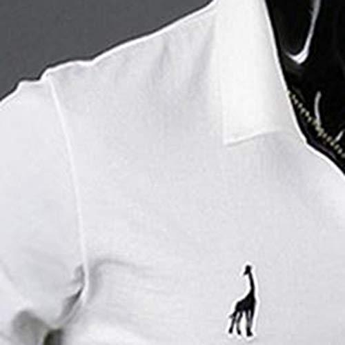MJARTORIA ポロシャツ メンズ 長袖 ドライ 通気性 吸汗速乾 春夏秋冬季対応 開襟シャツ トップス 胸刺繍 ニット 長袖 旅行 通勤 通学作業着 無地 スポーツウェア ゴルフウェア