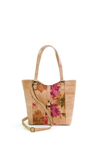 Artelusa Vegan Cork Shoulder Bag for Women, Handmade in Portugal