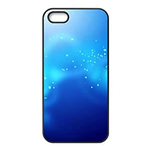 Blue stars iPhone 4 4s Cell Phone Case Black AMS0672868