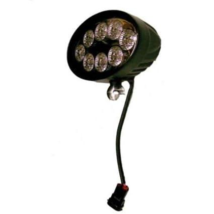 Amazon com: LED Flood Beam Rear Roof Lamp with Wiring Harness John