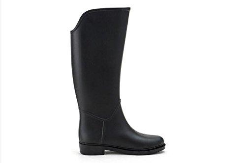 caballo lluvia Se primavera montar Botas ora En verano y Moda Black de Botas de a n1USO1Bx
