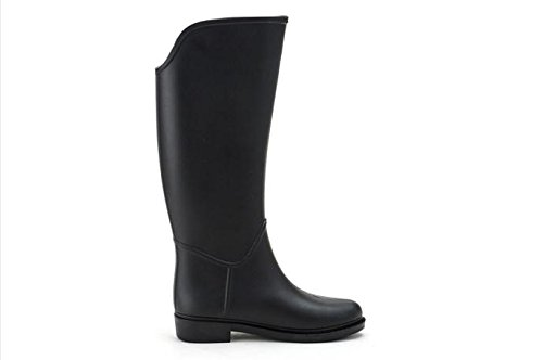 Se verano montar ora primavera En y Botas lluvia a Moda de Black caballo Botas de zxwgqSaU