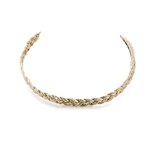 Hemp Choker Necklace Wrap #1