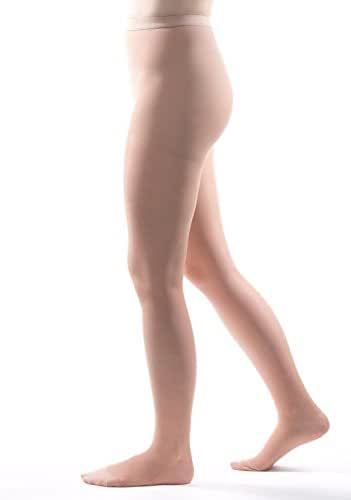 Allegro 20-30 mmHg Essential 33 Sheer Support Compression Pantyhose