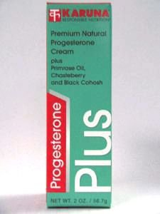 Karuna - Progesterone Plus Cream 2 oz (Plus Progesterone Cream)