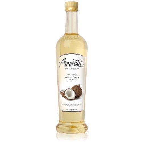 Amoretti Premium Syrup, Coconut Cream, 25.4 Ounce by Amoretti by Amoretti