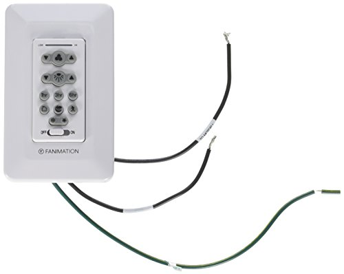 Fanimation TW206 Six Speed DC Motor Wall Control Reversing, White by Fanimation