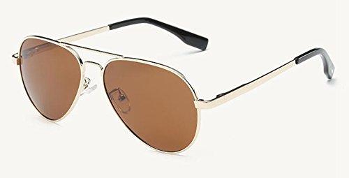 rond soleil métallique inspirées du de style Thé polarisées lunettes cercle retro Tranche de en vintage Lennon 7Rqw5