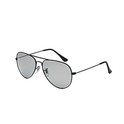 Sunglasses- Día y Noche Gafas polarizadas Que cambian de Color Gafas de Sol de conducción