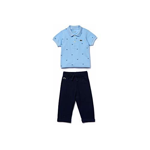 Lacoste Baby Short Sleeve Polo and Fleece Jogger