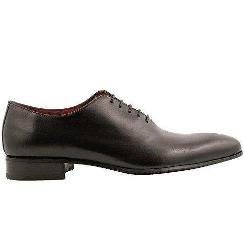 Exclusif Paris - Zapatos de cordones de Otra Piel para hombre negro negro