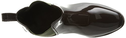 Lauren Ralph Lauren Damen Tally Regenstiefel Dunkelbraun / Hunter Green Solid Polyvinylchlorid / Elastisch