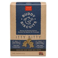 Itty Bitty Buddy Biscuits - 8 oz - Bacon & Cheese Madness
