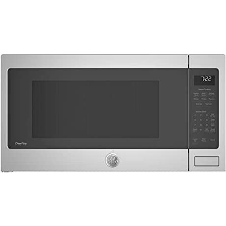 GE Profile PES7227SLSS 25 Inch 2 2 Cu Ft Capacity Countertop Microwave With 1100 Cooking Watts In Stainless Steel