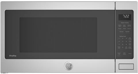 GE Profile PES7227SLSS 25 Inch 2.2 cu.ft. Capacity Countertop Microwave with 1100 Cooking Watts, in Stainless Steel by GE Profile