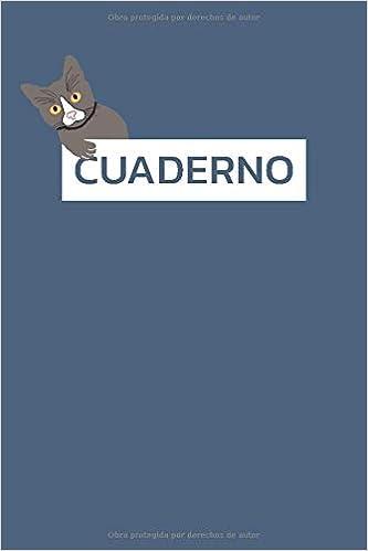 Cuaderno: 110 Paginas Diseño Gato Dot Grid Puntos ...