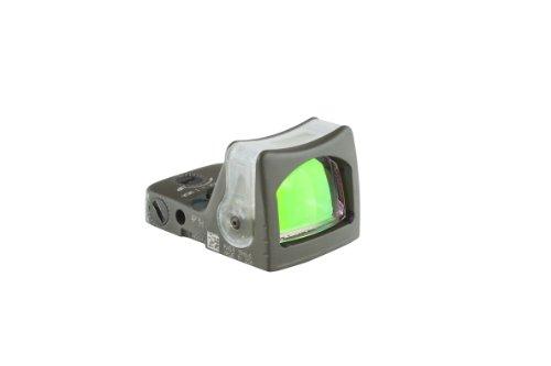 Green Triangle (Trijicon RM08-C-700281 RMR 12.9 MOA Dual-Illuminated Green Triangle Sight, OD Green)