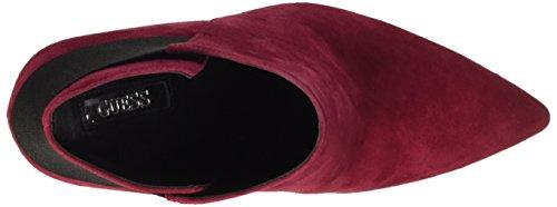 Guess FLOL24SUE09, Botines Mujer Rojo (Berry)