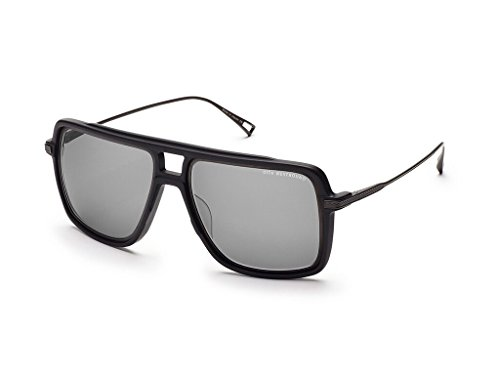 Dita WESTBOUND 19015 B-BLK-BLK Matte Black-Black Iron w/ Dark Grey-Bl - Dita Sunglasses Men