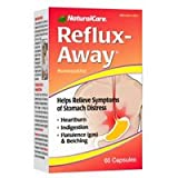 NATURAL CARE REFLUX AWAY, 60 CAP