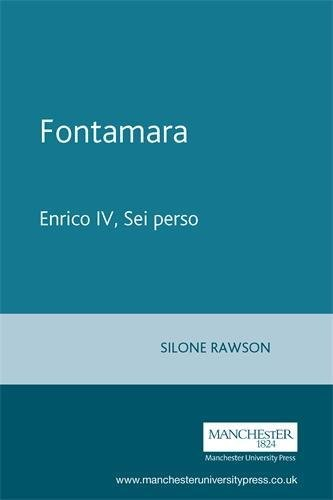 Fontamara: Enrico IV, Sei perso (Italian Texts)