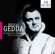 (Nicolai Gedda: Gesangkunst in Vollendung (Perfect Vocal Art) [Live and Studio Performances From 1952-1960))