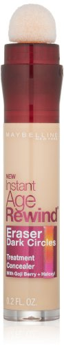 Maybelline New York Instant Age Rewind Eraser Dark Circles Treatment Concealer, Neutralizer 150, 0.2-fluid Ounce, 1 Count