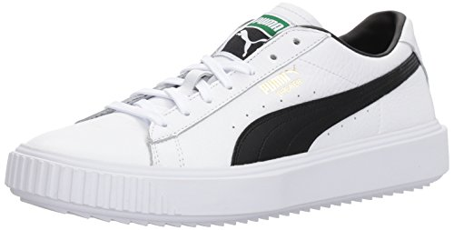 PUMA Breaker White Sneaker Puma Men's Black puma ggrqwAI5