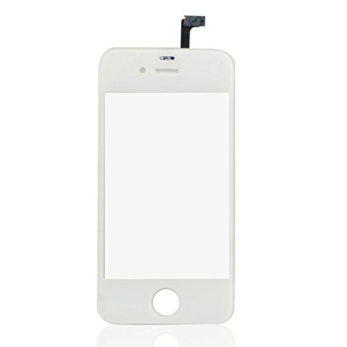 ADSRO New Replacement Touch Screen Digitizer For iphone 4S 4GS White (4s Replacement Screen Oem Iphone)