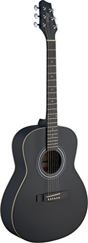 Starion ST-SA30A-BK Auditorium Acoustic Guitar - Black by Starion